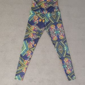 High rise onzie leggings
